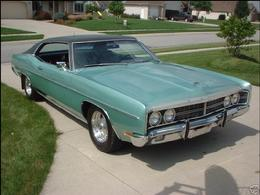 Norm & Bev's 100% Original 1970 Ford Galaxie For Sale 704-233-9220