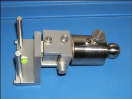 Shown is a L 586 M3 bracket sensor holder used with a Optalign Plus series sensor - Sale - Call 704-233-9222