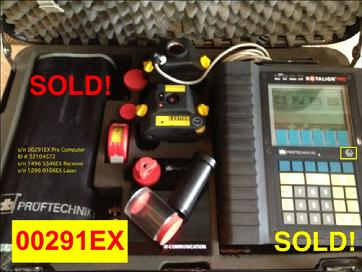 Refurbished Rotalign Pro EX s/n 00291EX - SOLD!