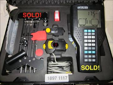 SOLD! - Refurbished Optalign® Plus All Features s/n 1897 1117 - Call 704-233-9222