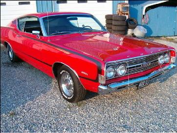 Norm's 1968 Ford Torino GT 325 HP S code 390 4 speed - Call 704-233-9220