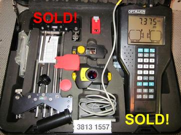 Sold! Refurbished Optalign® Plus All Features s/n 3813 1557 Call 704-233-9222