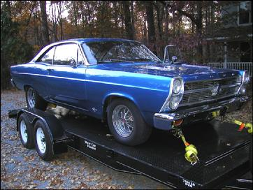 Our '66 Fairlane 390 4-Speed - Before the Accident!